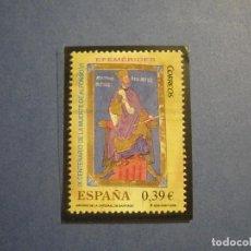 Sellos: ESPAÑA 2009 - EFEMERIDES - IX CENT. MUERTE DE ALFONSO VI - EIFIL 4487 - USADO.. Lote 294127473