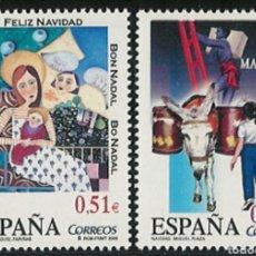 Selos: ESPAÑA N°4031/32 NAVIDAD 2003 MNH** (FOTOGRAFÍA ESTÁNDAR). Lote 294374643