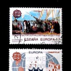 Sellos: 3196-3197, SERIE USADA, FOTO ESTÁNDAR. EUROPA.. Lote 294830263