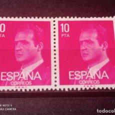 Sellos: PAREJA 1977 EDIFIL 2394 BÁSICA JUAN CARLOS I. NUEVO. Lote 294836743