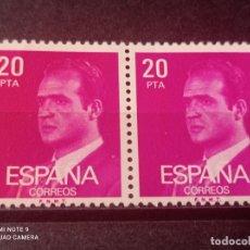 Sellos: PAREJA 1977 EDIFIL 2396 BÁSICA JUAN CARLOS I. NUEVO. Lote 294837293