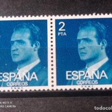 Sellos: PAREJA 1976 EDIFIL 2345 BÁSICA JUAN CARLOS I. NUEVO. Lote 294837383