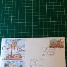Sellos: EXFILCOAR 2002 CASTILLOS CALATIRAO SFC MATASELLO. Lote 294850143