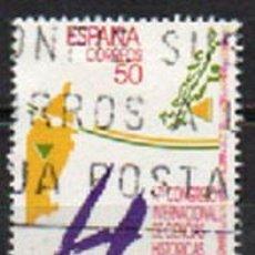 Sellos: EDIFIL 3075, CONGRESO INTERNACIONAL DE CIENCIAS HISTORICAS, USADO. Lote 294938533