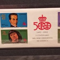 Sellos: ESPAÑA, 1991. CARNET EDIFIL 3137C. V CENTENARIO DEL DESCUBRIMIENTO DE AMERICA.NUEVO.. Lote 294957578