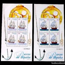 Selos: HB 3415-3416, SERIE NUEVA, SIN CH., MISMA NUMERACIÓN, FOTO ESTÁNDAR. BARCOS.. Lote 295009098