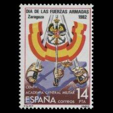 Sellos: EDIFIL 2659 NUEVO SIN CHARNELA MNH ** 1982 DÍA DE LAS FUERZAS ARMADAS. Lote 295280018