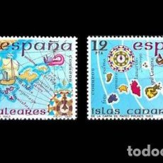 Sellos: EDIFIL 2622-2623 NUEVOS SIN CHARNELA MNH ** 1981 ESPAÑA INSULAR. Lote 295280058