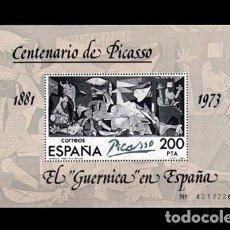 Sellos: EDIFIL 2631 NUEVO SIN CHARNELA MNH ** 1981 HB EL GUERNICA DE PICASSO EN ESPAÑA. Lote 295280073