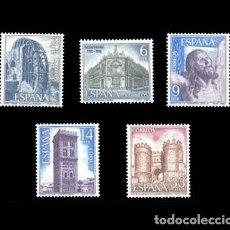 Sellos: EDIFIL 2676-2680 NUEVOS SIN CHARNELA MNH ** 1982 PAISAJES Y MONUMENTOS. Lote 295280123