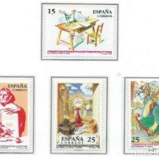 Sellos: 1991. ESPAÑA. EDIFIL 3118/21**MNH. CENTENARIOS.. Lote 295697053