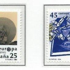 Sellos: 1991. ESPAÑA. EDIFIL 3116/17**MNH. EUROPA. ESPACIO.. Lote 295697533