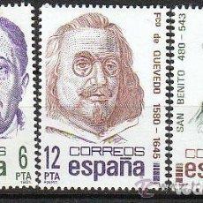 Sellos: ESPAÑA 1981 (2618-2620) CENTENARIOS (NUEVO). Lote 295839788