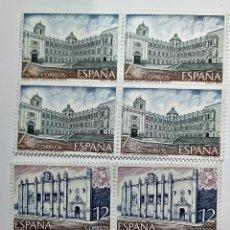 Sellos: SELLOS ESPAÑA 1979 SERIE AMERICA/ ESPAÑA - EDIFIL 2544 A 45 (COMPLETA) NUEVOS EN BLOQUE DE 4. Lote 295869238