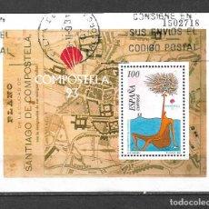 Sellos: ESPAÑA 1993 EDIFIL 3258 USADO HOJA BLOQUE - 5/25. Lote 295980993