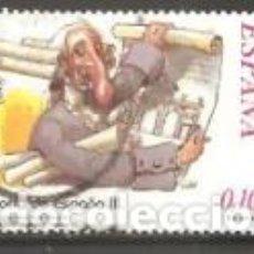 Sellos: ESPAÑA 2002. CORRESPONDENCIA EPISTOLAR ESCOLAR. CARLOS III. EDIFIL Nº 3919. USADO.. Lote 296012298