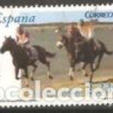 Sellos: ESPAÑA 2006. CARRERAS DE CABALLOS DE SANLUCAR DE BARRAMEDA. EDIFIL Nº 4253. USADO.. Lote 296014853