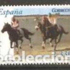 Sellos: ESPAÑA 2006. CARRERAS DE CABALLOS DE SANLUCAR DE BARRAMEDA. EDIFIL Nº 4253. USADO.. Lote 296014898
