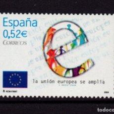 Sellos: ESPAÑA 4080** - AÑO 2004 - AMPLIACION DE LA UNION EUROPEA. Lote 296711638