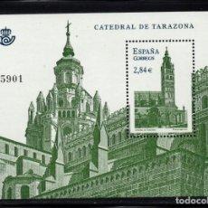 Sellos: ESPAÑA 4679** - AÑO 2011 - CATEDRAL DE TARAZONA. Lote 296714893