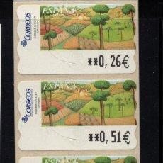Sellos: ESPAÑA ATM** - AÑO 2003 - PINTURA. Lote 296720658