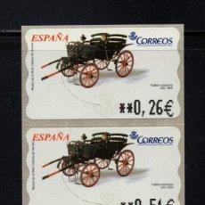 Sellos: ESPAÑA ATM** - AÑO 2003 - COCHE DE CABALLOS. Lote 296720868