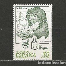 Sellos: ESPAÑA. Nº 3538. AÑO 1998. LITERATURA ESPAÑOLA. USADO.. Lote 296891353