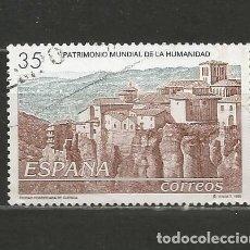 Sellos: ESPAÑA. Nº 3558. AÑO 1998. BIENES PATRIMONIO DE LA HUMANIDAD. USADO.. Lote 296891703