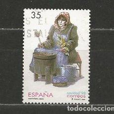 Sellos: ESPAÑA. Nº 3596. AÑO 1998. NAVIDAD. USADO.. Lote 296896713