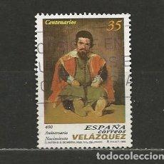Sellos: ESPAÑA. Nº 3658. AÑO 1999. CENT. NACIMIENTO DE VELÁZQUEZ. USADO.. Lote 296897958