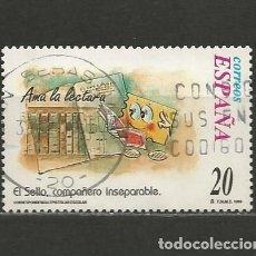 Sellos: ESPAÑA. Nº 3669. AÑO 1999. CORRESPONDENCIA EPISTOLAR ESCOLAR. USADO.. Lote 296898328