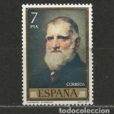 Sellos: ESPAÑA. Nº 2434(*). AÑO 1977. PINTURA. MADRAZO. NUEVO SIN GOMA.. Lote 296912353