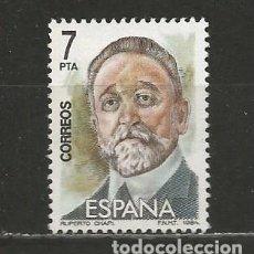 Sellos: ESPAÑA. Nº 2764(*). AÑO 1984. MAESTROS DE LA ZARZUELA. NUEVO SIN GOMA.. Lote 297031403