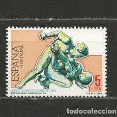 Sellos: ESPAÑA. Nº 2770(*). AÑO 1984. JUEGOS OLÍMPICOS - LOS ÁNGELES. NUEVO SIN GOMA.. Lote 297031748