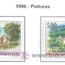 Sellos: LIECHTENSTEIN 1996 VILLAS DE LIECHTENSTEIN 2 SELLOS. Lote 26175868