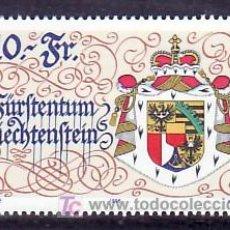 Sellos: LIECHTENSTEIN 1077 SIN CHARNELA, ESCUDO, 75º ANIVERSARIO DE LA NUEVA CONSTITUCION, . Lote 11903664