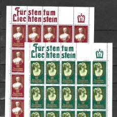 Sellos: LIECHTENSTEIN 682/3 MINIPLIEGO SIN CHARNELA, TEMA EUROPA 1980, PRINCESAS DE LIECHTENSTEIN, . Lote 11373652