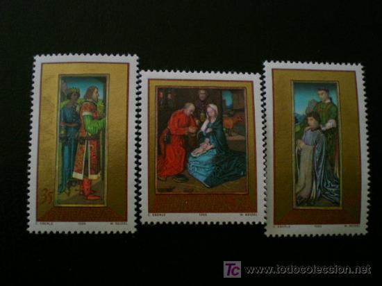 LIECHTENSTEIN 1989 IVERT 919/21 *** NAVIDAD (Sellos - Extranjero - Europa - Liechtenstein)