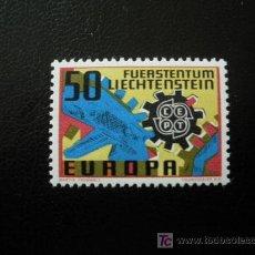 Sellos: LIECHTENSTEIN 1967 IVERT 425 *** EUROPA. Lote 11678631