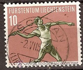 SELLO LIECHTENSTEIN 286 ZUMSTEIN 1956 (Sellos - Extranjero - Europa - Liechtenstein)