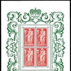 Sellos: LIECHTENSTEIN AÑO 1965 YV 397*** HB EN MP - VIRGEN DE SCHELLENBERG - ESCULTURA - ARTE - RELIGIÓN. Lote 26276156