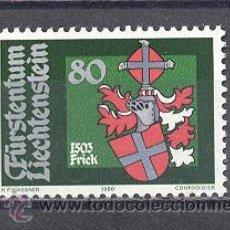 Sellos: LIECHTENSTEIN - NUEVO- 1980-YVERT TELLIER 686. Lote 24692361
