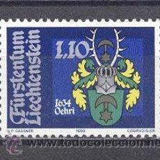 Sellos: LIECHTENSTEIN - NUEVO- 1980-YVERT TELLIER 687. Lote 24692374