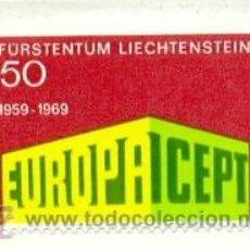 Sellos: 2-LIECHTENSTEIN454. SELLO NUEVO LIECHTENSTEIN YVERT Nº 454. EUROPA CEPT. Lote 25109635