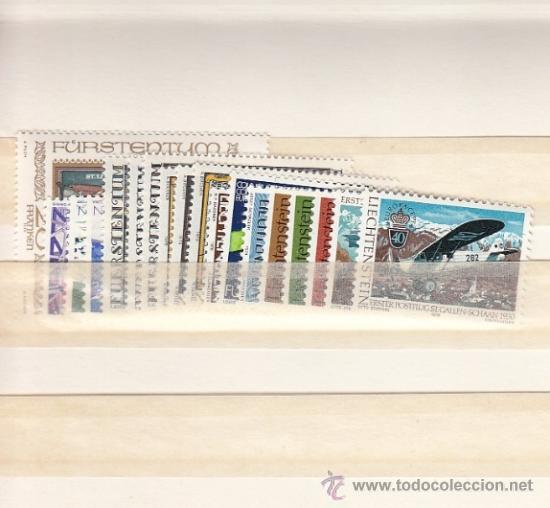LIECHTENSTEIN 664/81 SIN CHARNELA, AÑO 1979 VALOR CAT 45.50 EUROS + (Sellos - Extranjero - Europa - Liechtenstein)
