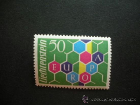 LIECHTENSTEIN 1960 IVERT 355 *** EUROPA (Sellos - Extranjero - Europa - Liechtenstein)
