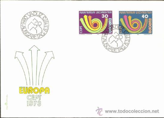 EUROPA / 1973 (Sellos - Extranjero - Europa - Liechtenstein)