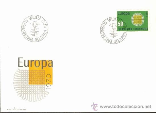 EUROPA 1970 (Sellos - Extranjero - Europa - Liechtenstein)