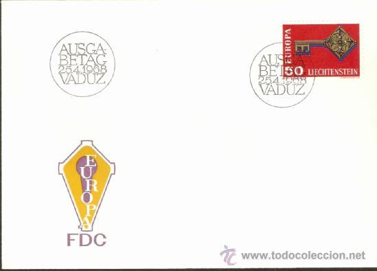 EUROPA 1968 (Sellos - Extranjero - Europa - Liechtenstein)