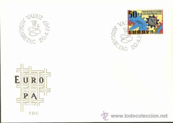 EUROPA 1967 (Sellos - Extranjero - Europa - Liechtenstein)